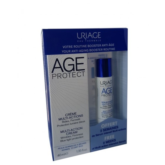 AGE PROTECT MULTI-ACTION krēms 40ml + AGE PROTECT MULTI-ACTION serums 10ml