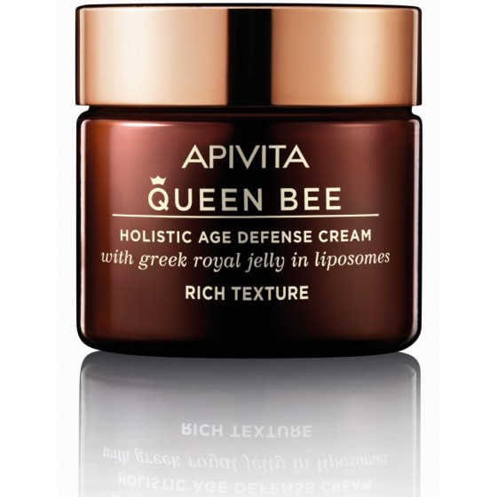 APIVITA QUEEN BEE Holistic Age Defense Cream Rich Texture, 50ml