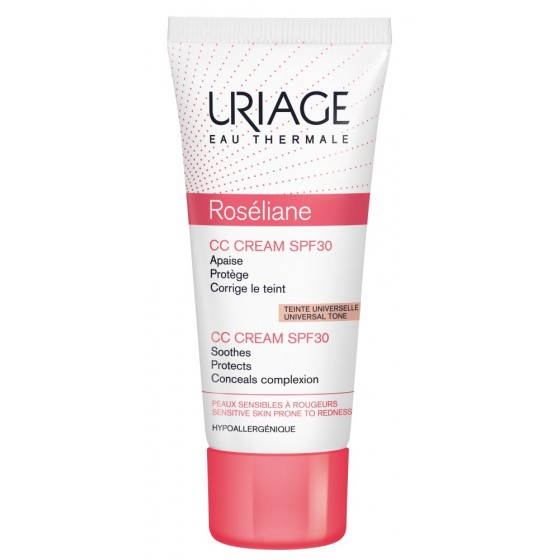 Uriage Roseliane CC krēms, SPF30 40 ml