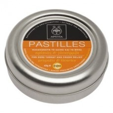 Pastilles for Sore Throat & Cough Relief Propolis & Licorice, 45g