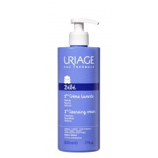 URIAGE 1st Cleansing soap-free cream Bébé, 500ml