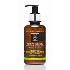 APIVITA Purifying gel – Face with Propolis & Citrus (Lime), 200ml