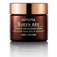 APIVITA QUEEN BEE Holistic Age Defense Cream Light Texture, 50ml