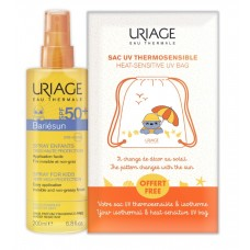 URIAGE pack: BARIÉSUN KID SPRAY SPF50+ and URIAGE Backpack