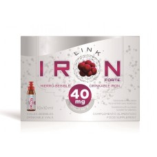 IRONLINK FORTE 40 mg skystis 10x10ml