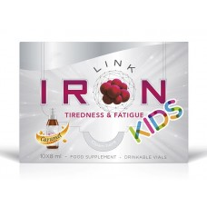 IRONLINK KIDS 10 mg, 10 pudelītes pa 8 ml