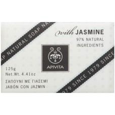 APIVITA Natural Soap with Jasmine & Lavender, 125g