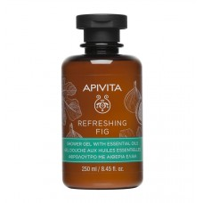 APIVITA REFRESHING FIG Shower Gel with Essential Oils with Fig, 250ml