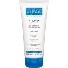 URIAGE CU-ZN+ Anti-Irritation Cleansing Gel, 200 ml