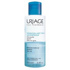 URIAGE Waterproof Eye Make-up Remover, 100 ml